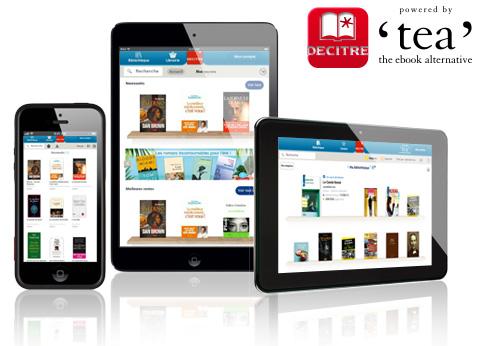 Lire en toute liberté avec Decitre ebooks