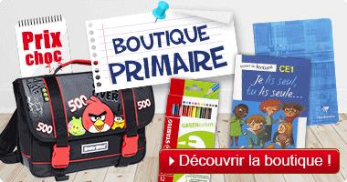 Rentrée scolaire : boutique primaire