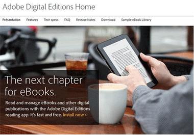 A quoi sert Adobe Digital Editions ?
