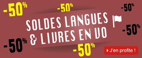 Soldes langues et livres en vo