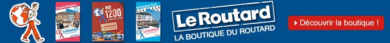 Découvrez la boutique du Routard