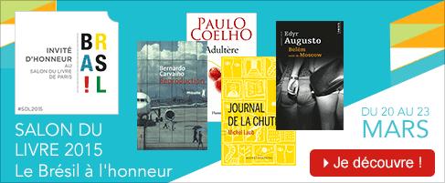 Salon du Livre : littérature brésilienne