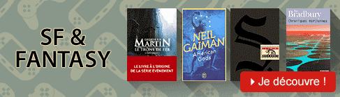 Livres de science fiction et fantasy