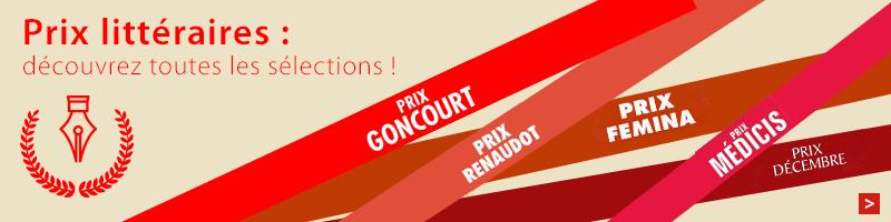 Livres sélectionnés pour les prix littéraires 2015