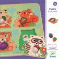 Puzzle bouton Croc-nut