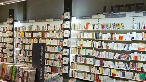 Devanture Librairie Decitre Confluence