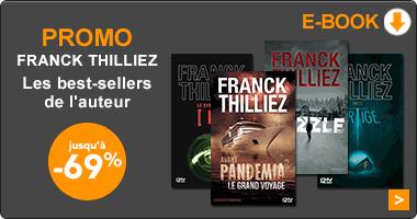 Promo numérique auteur polars Franck Thilliez