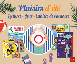 Plaisirs d'été : lectures et jeux
