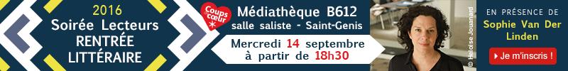 Inscription soirée rentrée littéraire Decitre Saint Genis