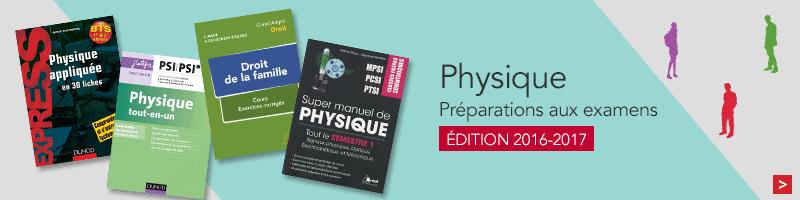 Physique préparation aux examens