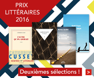 Prix littéraires 2016