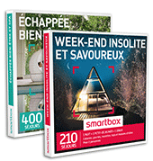 Smartbox coffrets cadeaux en duo