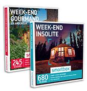 Smartbox coffrets cadeaux séjour