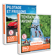 Smartbox coffrets cadeaux sport aventure