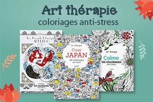 Art thérapie : coloriages anti-stress