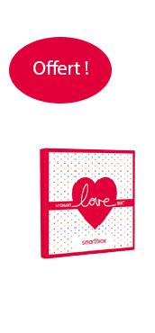 Pochette cadeau Love offerte