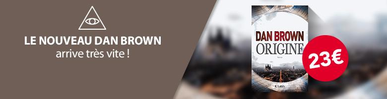 Nouveauté Dan Brown
