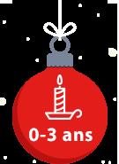Cadeaux Noël 0-3 ans