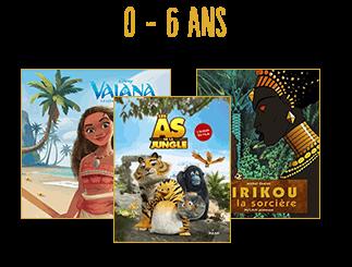 Albums 0 à 6 ans