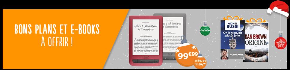 Numérique : bons plans liseuses et ebooks à offrir