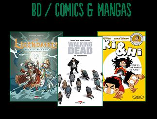 BD comics & mangas