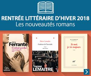 Rentrée littéraire d'hiver : nouveautés grand format