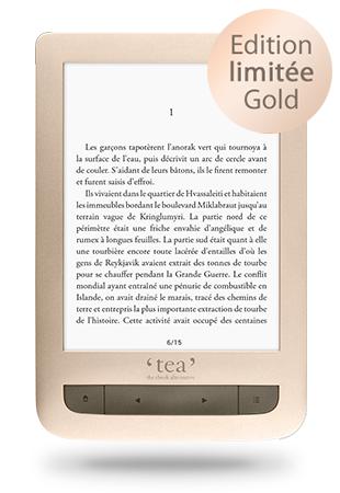 Liseuse Gold