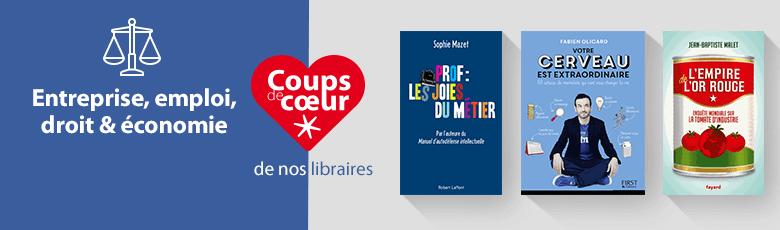 Coups de coeurs des libraires - rayon économie