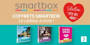 Découvrez nos coffrets Smartbox pour la fête des mères