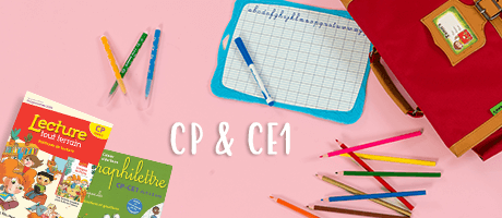Livres et TD scolaires CP & CE1