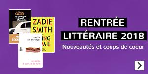 Rentrée littéraire 2018